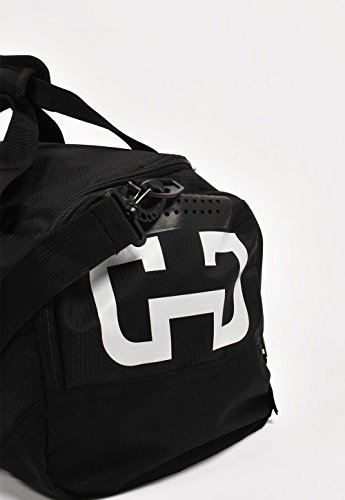 GYMJUNKY SPORTS BAG SCHWARZ/WEISS SPORTTASCHE FITNESS KRAFTTRAINING DUFFLE BAG - 3