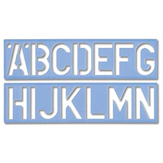 Helix 3 inch  75mm Letter Stencil and Notice Kit