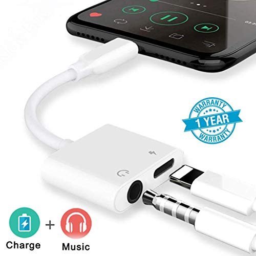 Headphone Adapter for iPhone 8 E...
