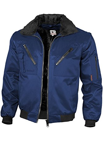 Qualitex - Pilotenjacke 4 in 1, Marine , XL