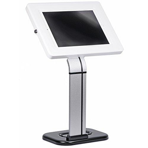 Zähler-stand (Brateck Abschließbar Tablet Schreibtisch Sicherer Anti Diebstahl Halterung Kiosk POS Zähler für iPad Samsung pad1503W)