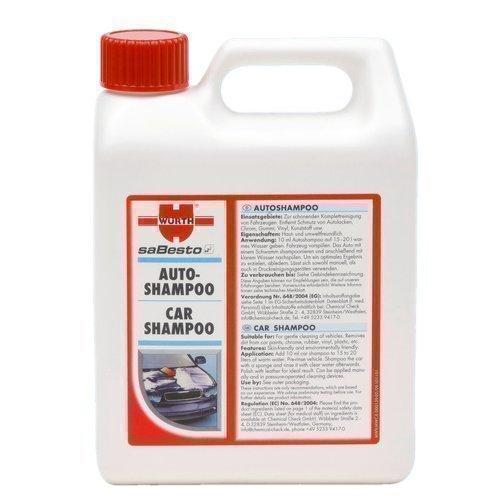 WÜRTH Shampooing de voiture - Concentré Intensif 1 Litre