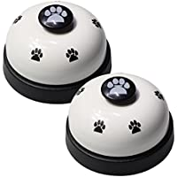 Pet Training Bells - VIMOV Set de 2 campanas de perros para el entrenamiento y el dispositivo de comunicación Potty