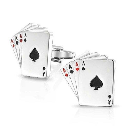 4 Ace Cufflinks