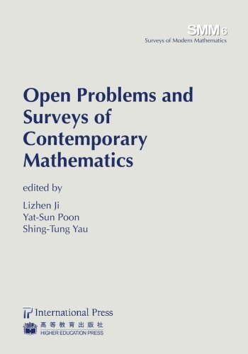 Open Problems and Surveys of Contemporary Mathematics (volume 6 in the Surveys in Modern Mathematics series) (Surveys of Modern Mathematics) by [various] (2013-11-13)
