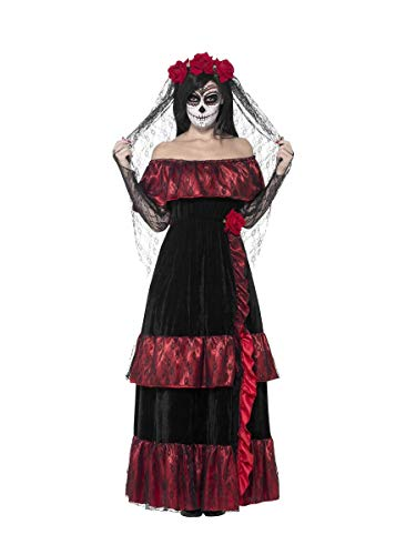 Fancy Dress Four Less Smiffys 43739 - Disfraz Novia