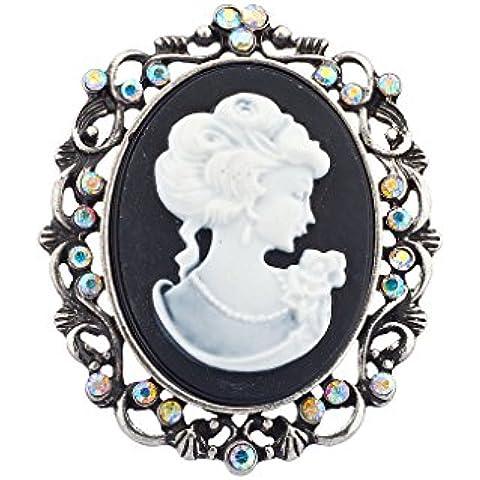 Lux accessori Antique Cameo Spilla