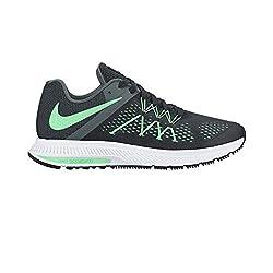 Nike Womens Zoom Winflo 3 Black Running Shoes (4 UK/India)