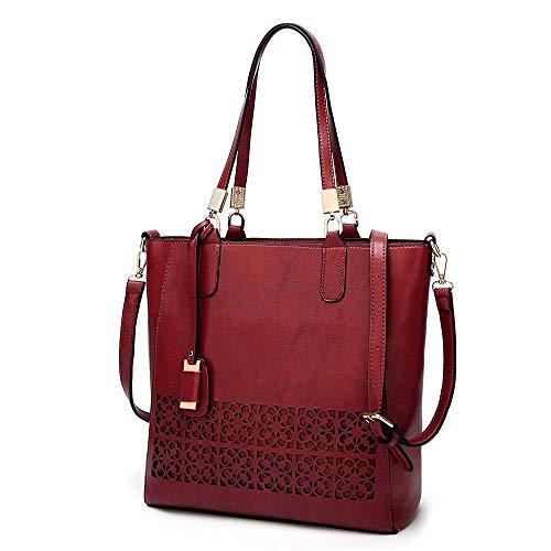 TRDyj Frauen handtaschen Europa und die vereinigten Staaten Mode pu Leder Brieftasche umhängetasche Arbeit Reise Handtasche Messenger weiblichen Beutel (Farbe : ()