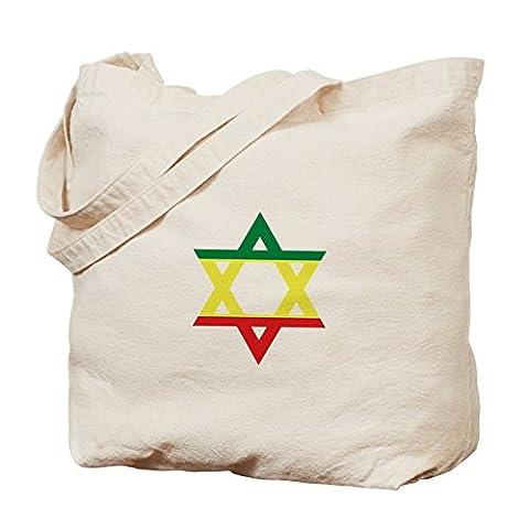 CafePress - Star Of David - Natural Canvas Tote Bag, Cloth Shopping Bag