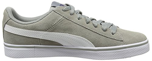 Puma 1948vulcf6, Baskets Basses Mixte Adulte Gris (Limestone Gray/White)