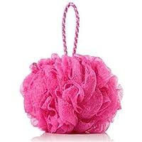 Indiginous Bath Shower Loofah Sponge Pouf Body Scrubber Exfoliator  Bathing Round Loofah for Men and Women  Ultra Soft…