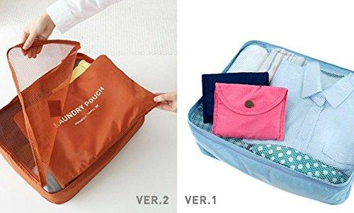 Packing Cubes,Mossio 7 Set Kleidertaschen mit Schuhbeutel - Reisegepäck Kofferorganizer Packtaschen Veranstalter Beutel (Weinrot) Grau