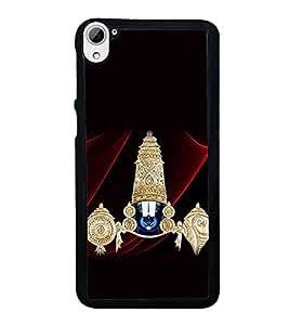 HiFi High Glossy Designer Phone Back Case Cover HTC Desire 826 :: HTC Desire 826 Dual Sim ( Balaji Tirumala Tirupati Hindu God )