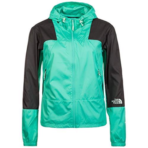 THE NORTH FACE Mountain Light Windshell Kapuzenjacke Damen grün/schwarz, M North Face Mountain Light Jacket