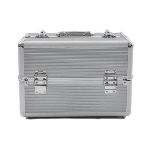 Beauty Boxes - Beauty case San Remo Cosmétiques et maquillage - Argenté
