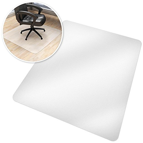 TecTake Bodenschutzmatte Bodenmatte Büro Stuhlunterlage 90x120cm
