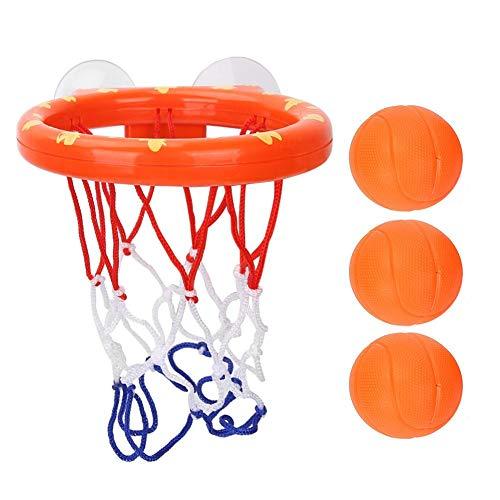 VGEBY1 Canestro da Pallacanestro da Bagno, canestro da Basket da Bagno e Palline Gioco da tiro Vasca per Bambini Bambini Adolescenti