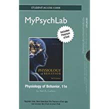 NEW MyPsychLab with Pearson eText -- Standalone Access Card -- for Physiology of Behavior (Mypsychlab (Access Codes)) by Neil R. Carlson (2012-07-25)