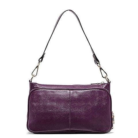 Teemzone Tasche Damen Umhängetasche Schultertasche Tagestasche Handtasche Umhänge Frauen Henkeltasche Ledertasche