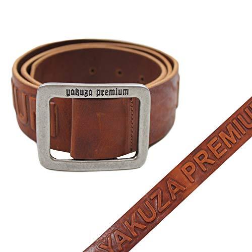 Yakuza Premium Leder Gürtel 2592 Cognac braun