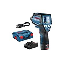 Bosch Professional Infrared Thermometer GIS 1000 Celsius (w/app Function, Temperature Range: -40 Degree Celsius to 1000 Degree Celsius, 1x 12 V Battery, in L-Boxx)
