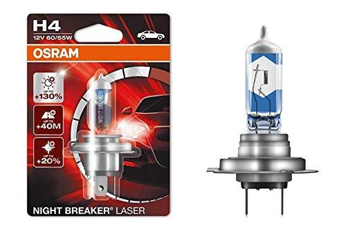 Osram H4 64193NBL-01B Laser Night Breaker Blister (60/55W, 12V, 1 Bulb)