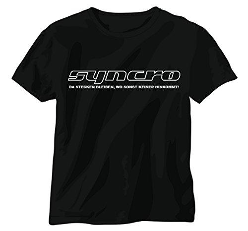 Preisvergleich Produktbild NetSpares T-Shirt T3 Syncro Da steckenbleiben Wo Sonst, Keiner hinkommt Bulli Neu
