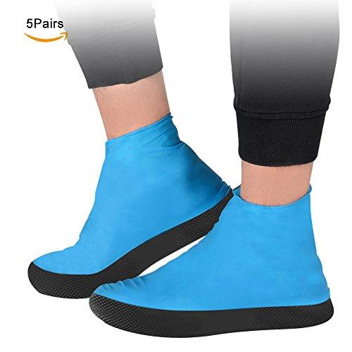 soumit-tanche-Chaussures-Unisexe-antidrapante-Couvre-chaussures-jetables-Couvre-chaussures-Pied-Nettoyer-Chaussures-couvercle-pour-lhumidit-Pluie-Neige-et-la-gadoue-anti-oxydant-EU4142-longueur-295-cm