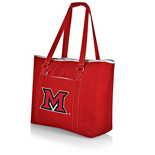 Picnic Time NCAA Miami Red Hawks Tahoe Kühltasche, isoliert, extra groß, Rot
