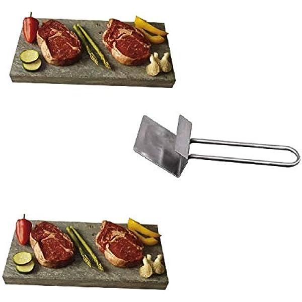 Piedra para carne de 20X30X3 cm, Promo 2 Unidades más ...