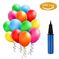 Idea Regalo - TedGem 100 Pcs Palloncini, Palloncini Matrimonio, Assortiti Colori Partito per la Cerimonia Nuziale Della Festa di Compleanno - Palloncini da in Lattice