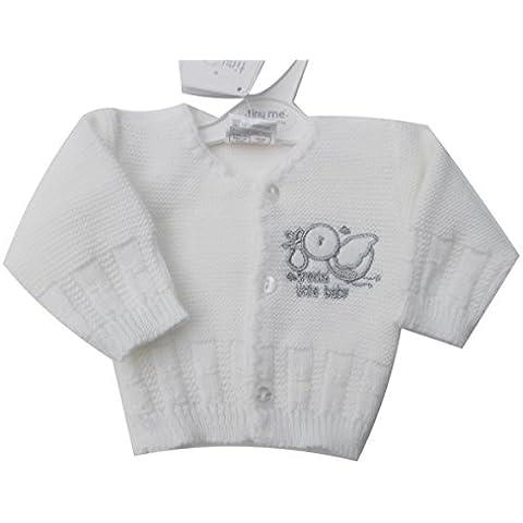 BNWT bebé prematuro, Preemie Color Blanco Unisex especial Baby–Ropa de punto para mujer