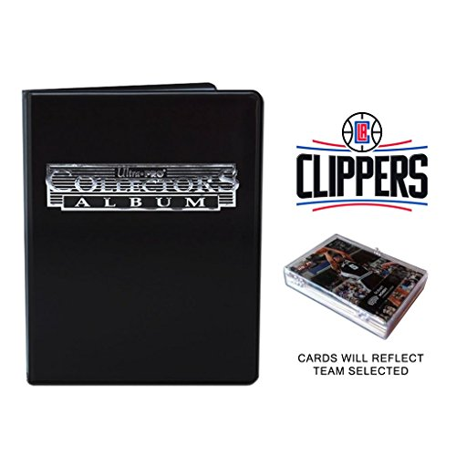 Basketball Cards w/ Collector's Mini Binder & Pages (Basketball-binder)