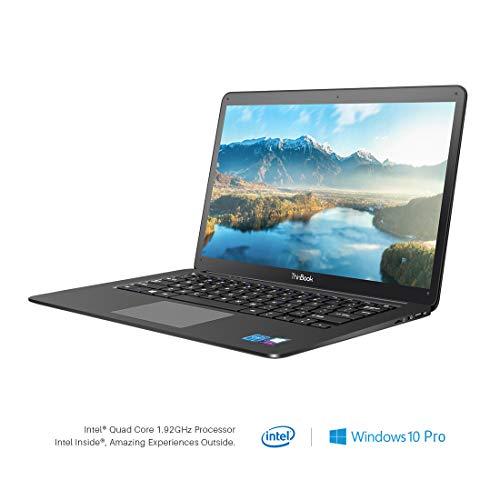 RDP ThinBook 1450-ECP 14.10-inch Laptop (Intel® Quad Core x5-Z8350 Processor/2GB/32GB/Windows 10 Professional/Integrated Graphics), Black