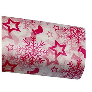 Food Wrapping Paper - SODIAL(R) Wax Paper, Food Wrapping Paper, Greaseproof Baking Paper, Soap Packaging Paper £¨Snowflake Christmas£©