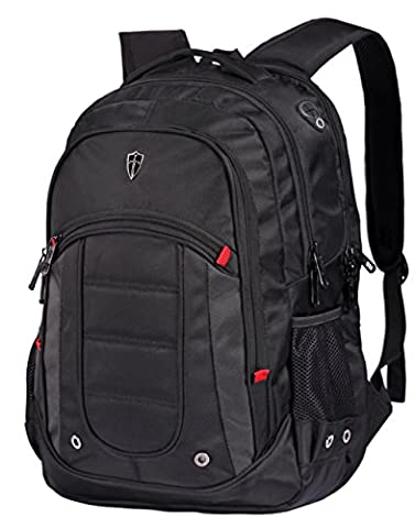 Victoriatourist V6060 Laptop Backpack College Rucksack Business Bag with 2 Laptop Tablet Compartments Fits Macbook Pro / Most 16 Inch Laptops