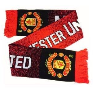Man Utd FC Fútbol-mantón/bufanda nuevo 2012