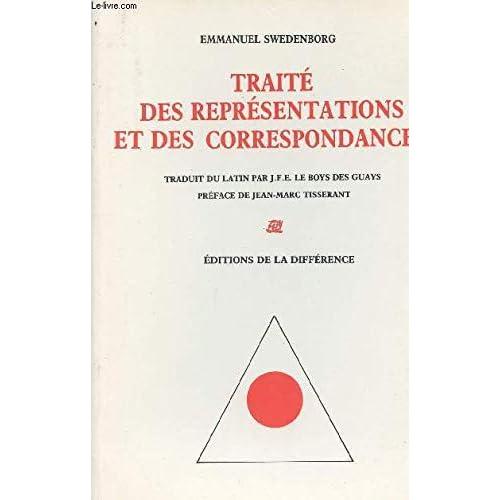 Traité des représentations et des correspondances