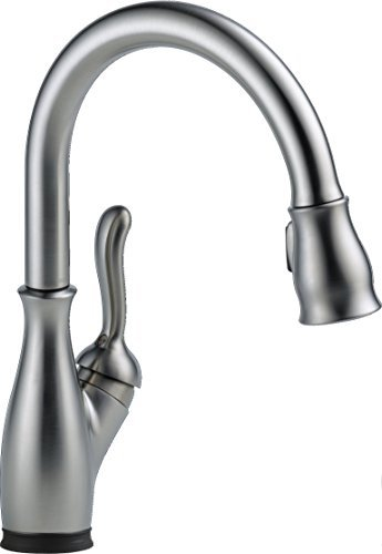 delta-faucet-9178t-ar-dst-leland-single-handle-pull-down-kitchen-faucet-with-touch2o-arctic-stainles