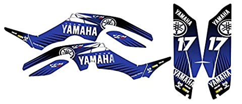 Yamaha Raptor 350Classic New Aufkleber-Set in MX Vinyl (nicht OEM)