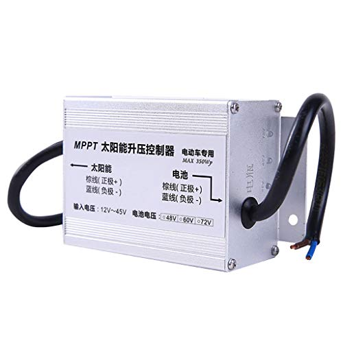 JU FU Regulador fotovoltaico de la batería de Litio del vehículo eléctrico del regulador 48V / 60V / 72V del Impulso Solar de MPPT (Tamaño : 48V)