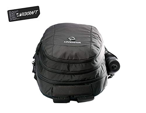 Best wildcraft backpack in India 2020 WILDCRAFT. Polyester 35 L Black Laptop Backpack Image 8