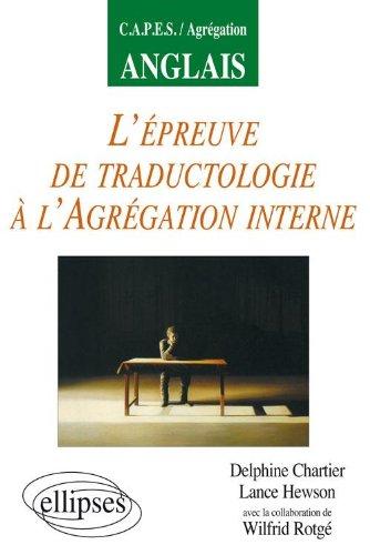 L'épreuve de traductologie à l'agrégation interne