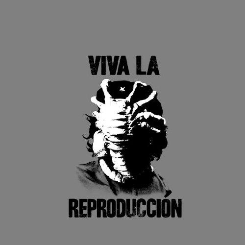 Viva la Reproduccion - Stofftasche / Beutel Weiß