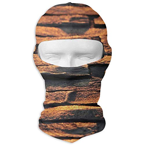 Preisvergleich Produktbild Wfispiy Full Face Mask Neck Hood Sports Mask Cobblestones Stones Road Texture Men Women
