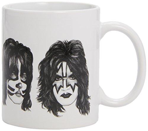 KISS - Graphite Faces - Mug / Tasse im Geschenkkarton