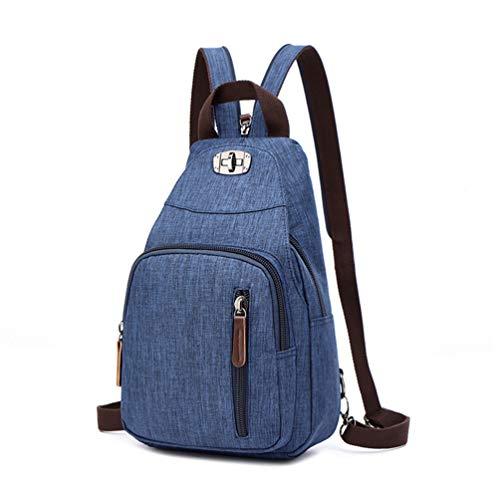 CHENYANG Frauen Vintage Mini Rucksack Tasche Leinwand Kleiner Rucksack Sport Casual Rucksack