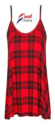 Generic - Robe - Moulante - Femme rouge Red red
