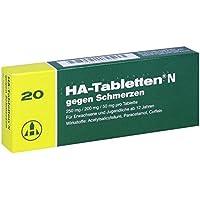 HA-Tabletten N gegen Schmerzen 20 stk preisvergleich bei billige-tabletten.eu